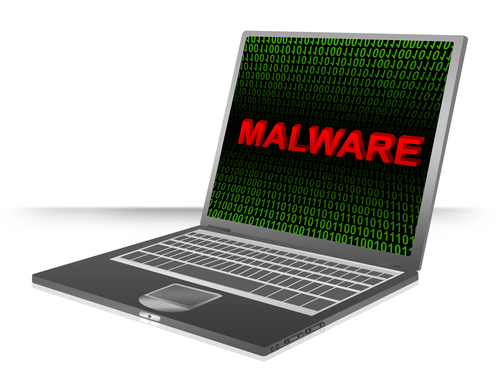 Malware on laptop