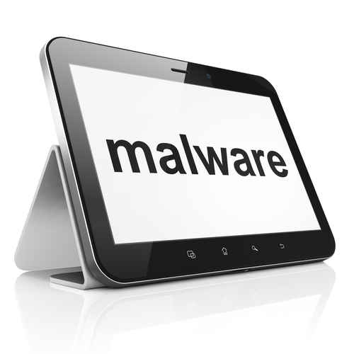 Malware on tablet
