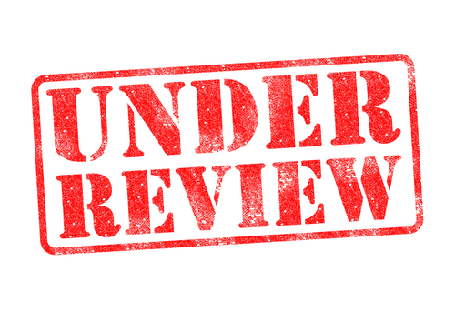 Under Review stamp