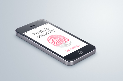 Smartphone with mobile security