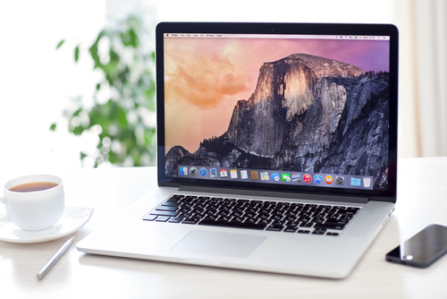 Mac with OS X Yosemite